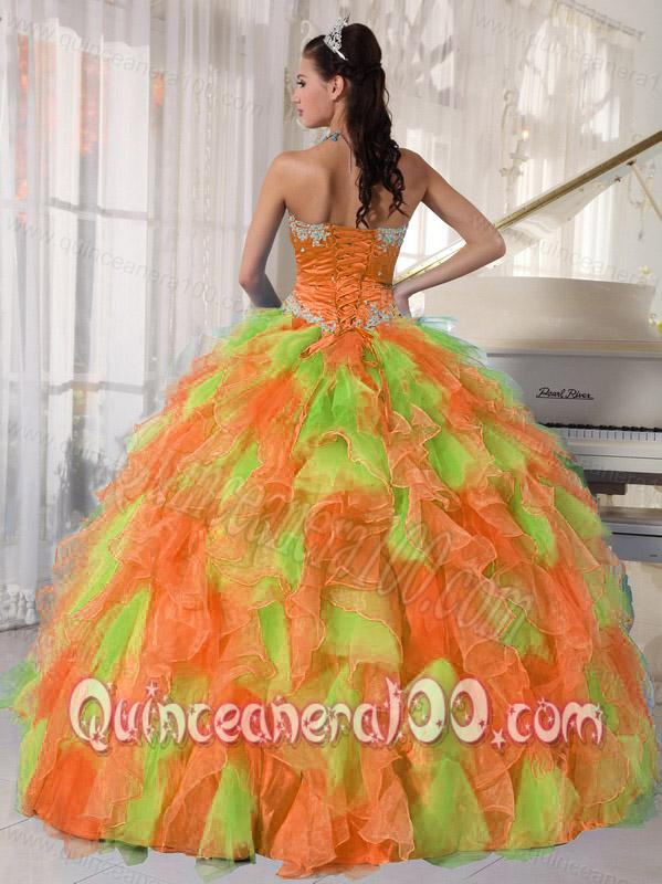 All Colors Strapless Sweet Sweet 16 Dresses With Appliques