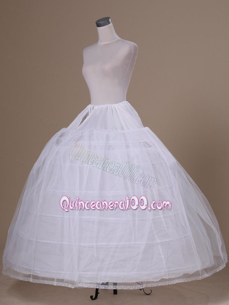 how to make a tulle petticoat