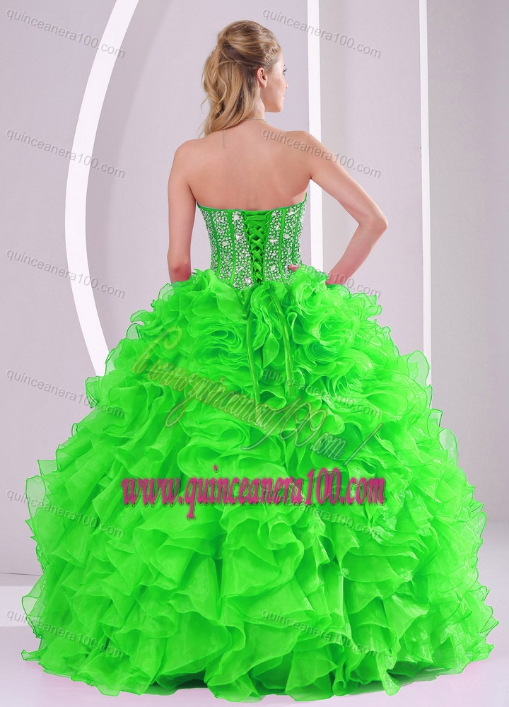 0d748893c0 ... Ball Gown Ruffles and Beading 2013 winter Quinceanera Dresses with Lace  up