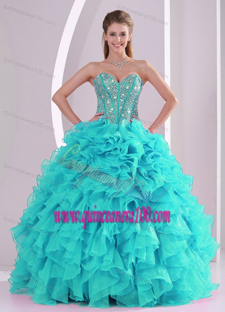 Aqua Blue Quinceanera Dresses & Gowns - Quinceanera 100