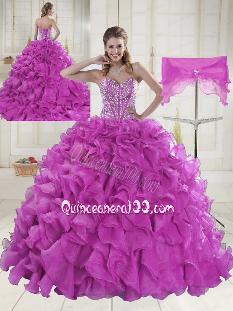 Fuchsia Quinceanera Dresses & Gowns - Quinceanera 100