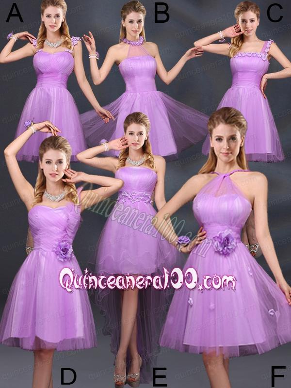 The Super Hot Lilac A Line Dama Dresses - Quinceanera 100