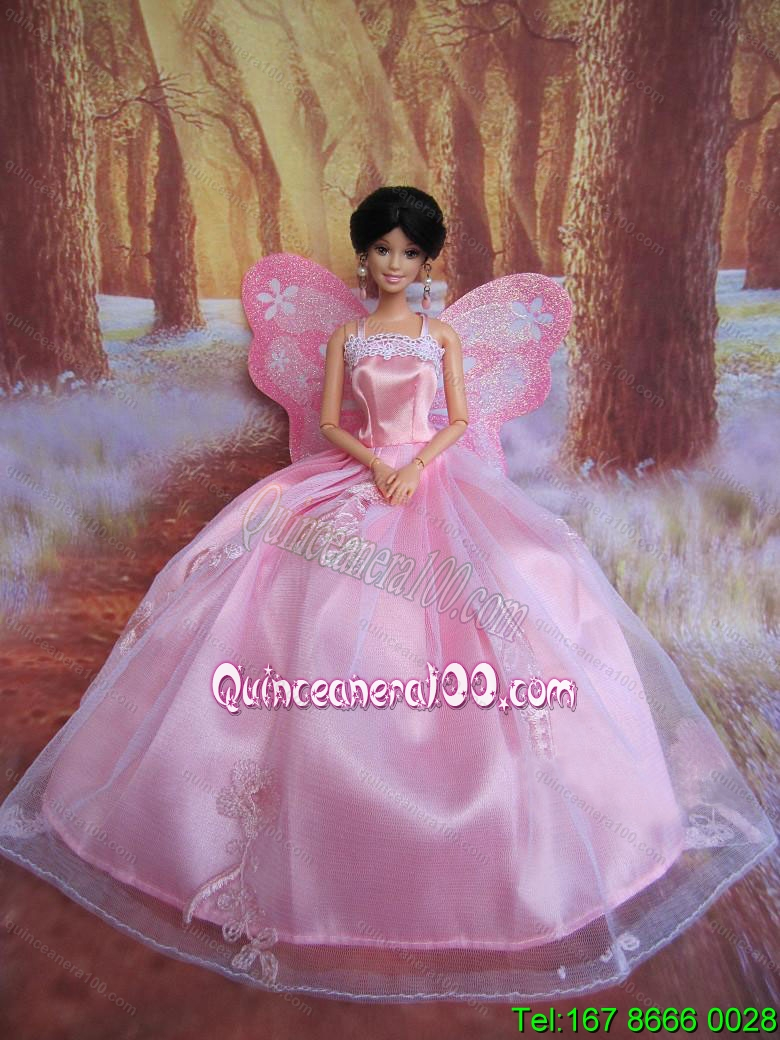 High Low Traditional Prom Barbie Doll Dress