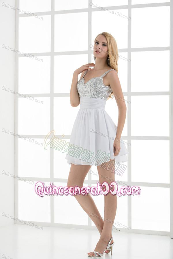 White Dama Dresses Quinceanera - Missy Dress