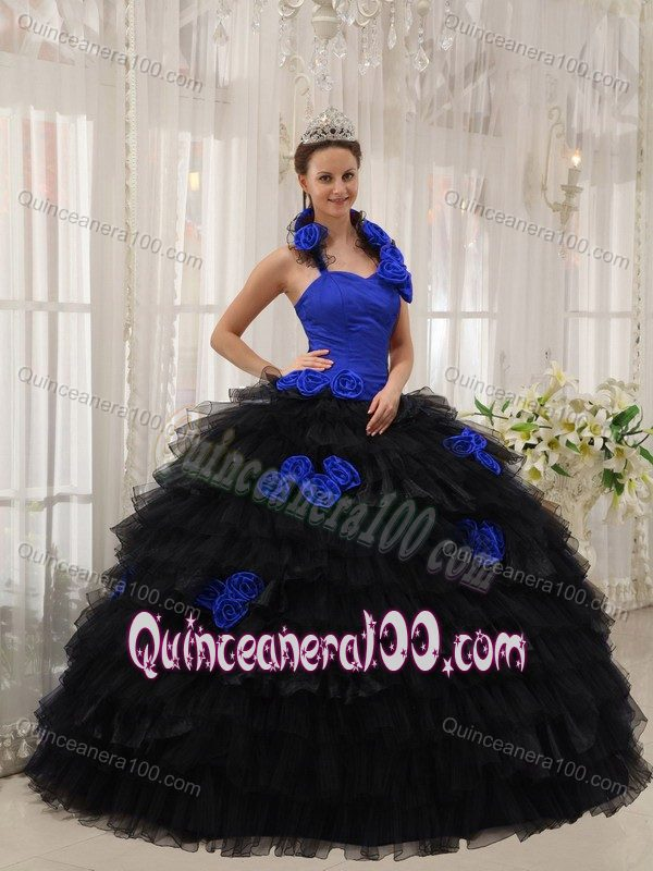 Blue and black | new quinceanera dresses