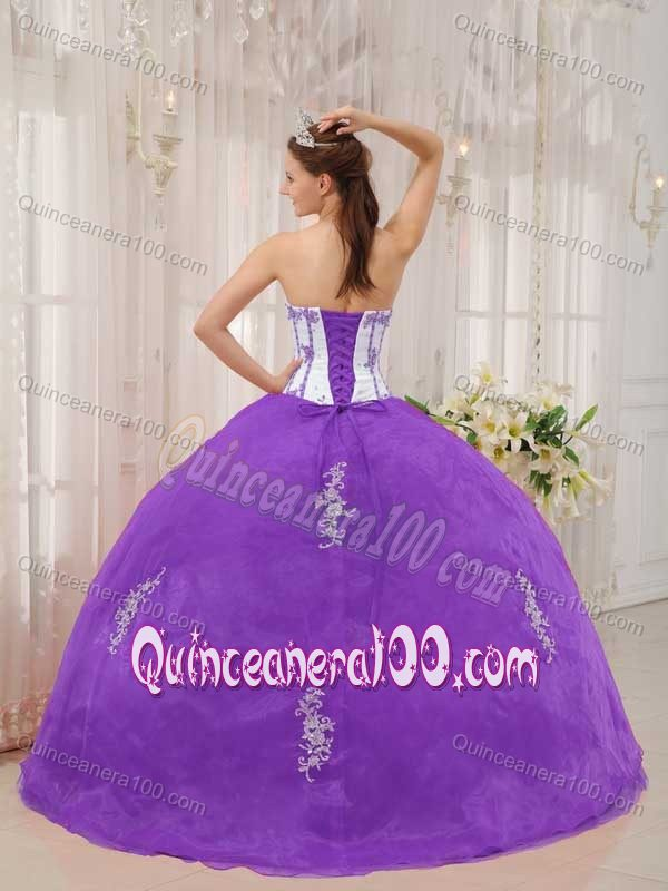 sweetheart appliques sweet sixteen quinceanera dresses in