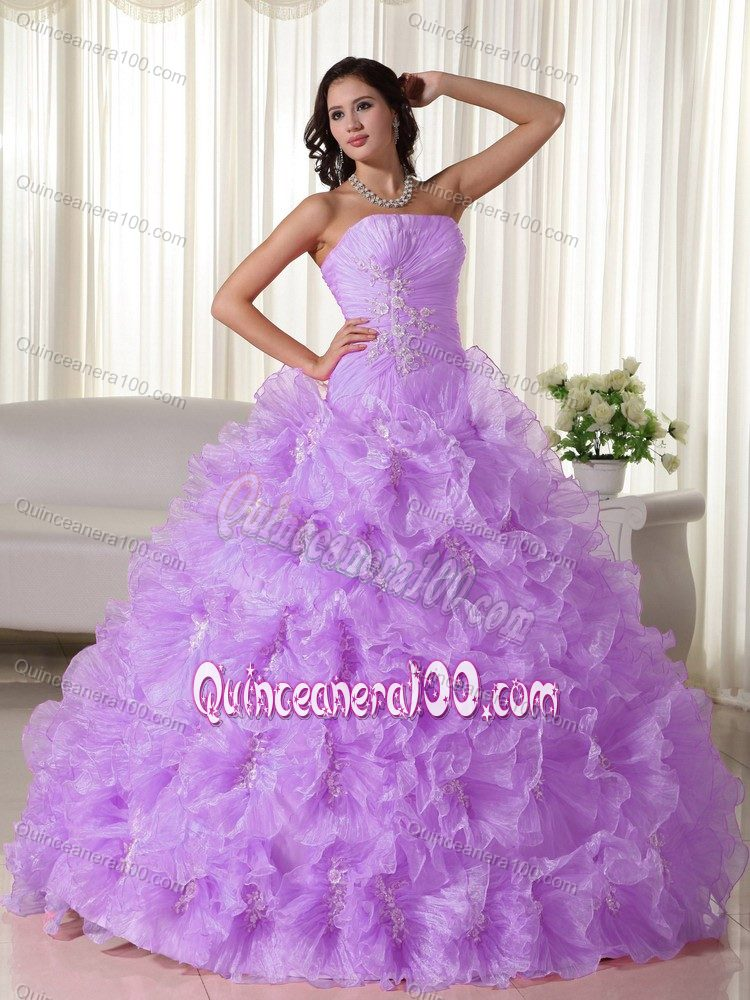 Lavender Quinceanera Dresses & Gowns - Quinceanera 100