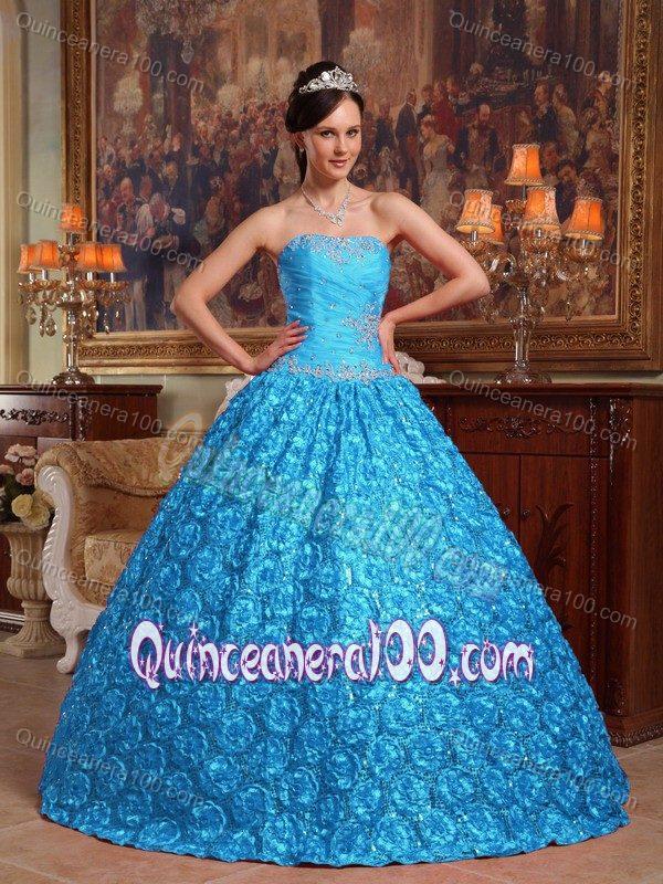 Quinceanera100.com Blue Dresses
