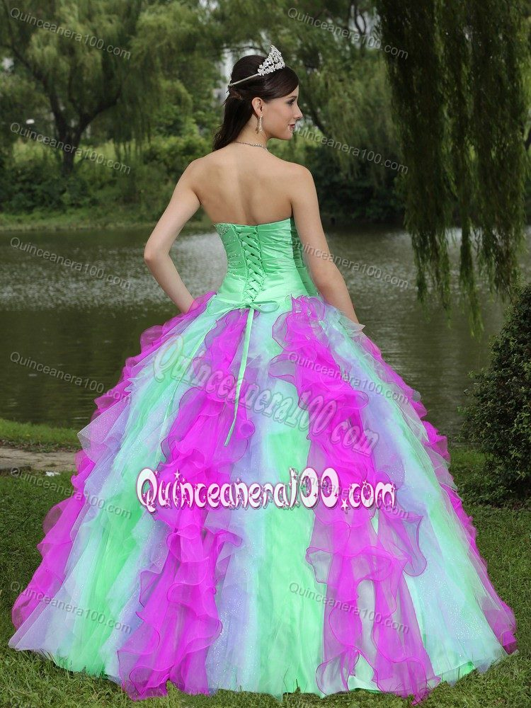 up Back Sweet 15 Dresses