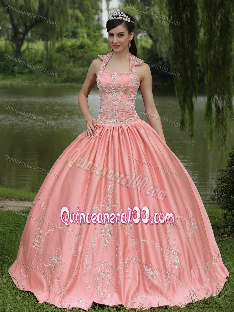 Peach Quinceanera Dresses & Gowns - Quinceanera 100