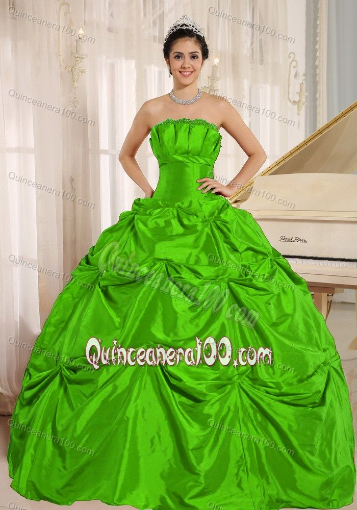 Spring Green Quinceanera Dresses & Gowns - Quinceanera 100