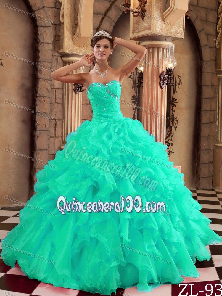 Apple Green Quinceanera Dresses & Gowns - Quinceanera 100