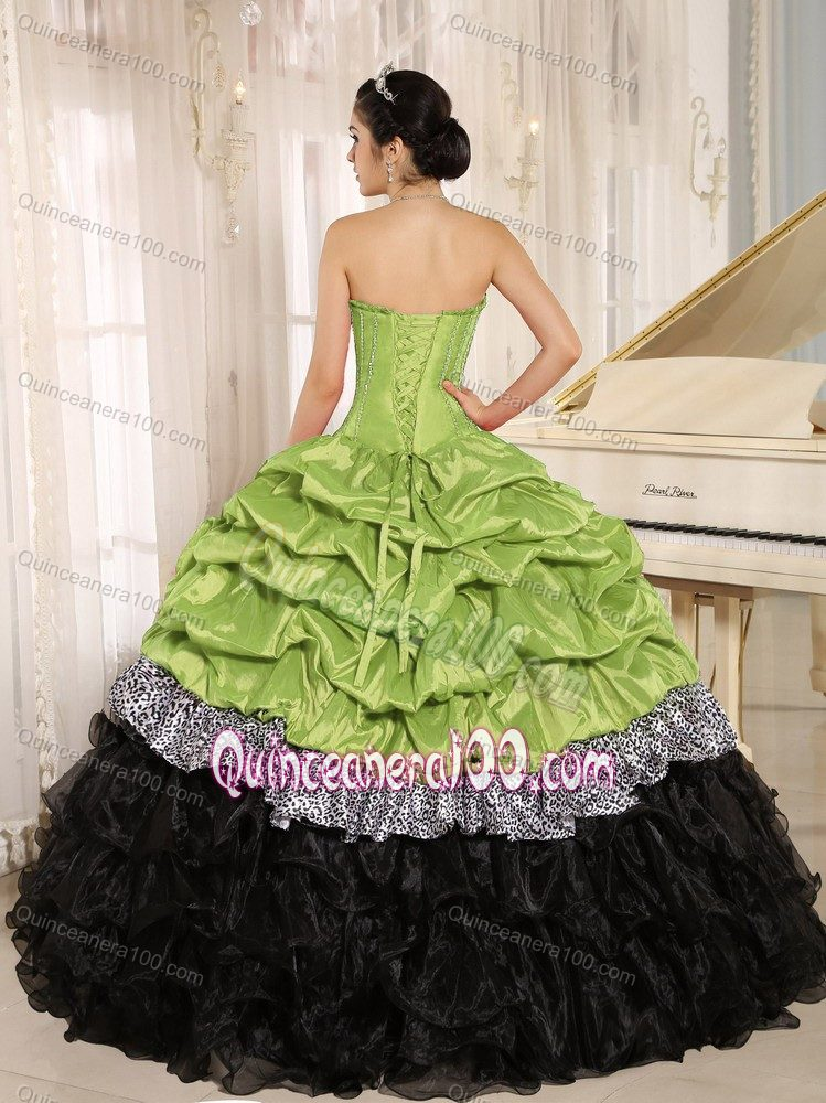 f5532039d0 Court Train Sweetheart Pick-ups Sweet 16 Dress with Embroidery - Quinceanera  100