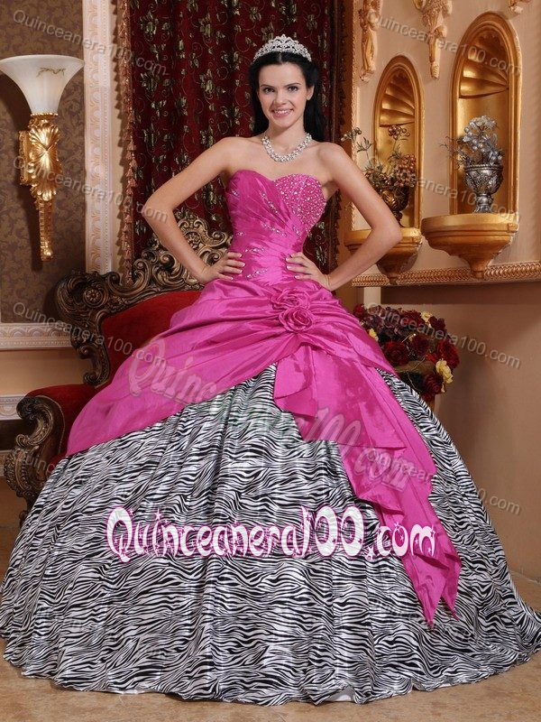 Zebra Print Prom Dresses Under 100 Dollars