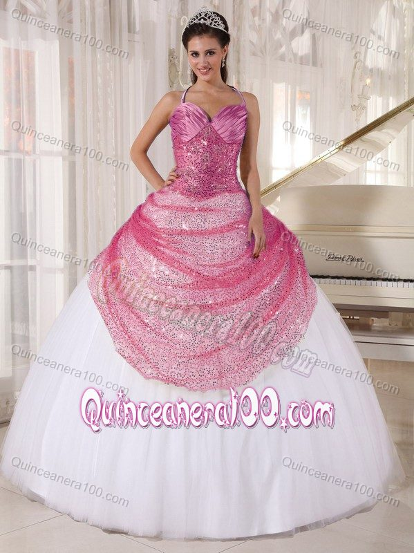 Sweet Sixteen Dresses with Straps