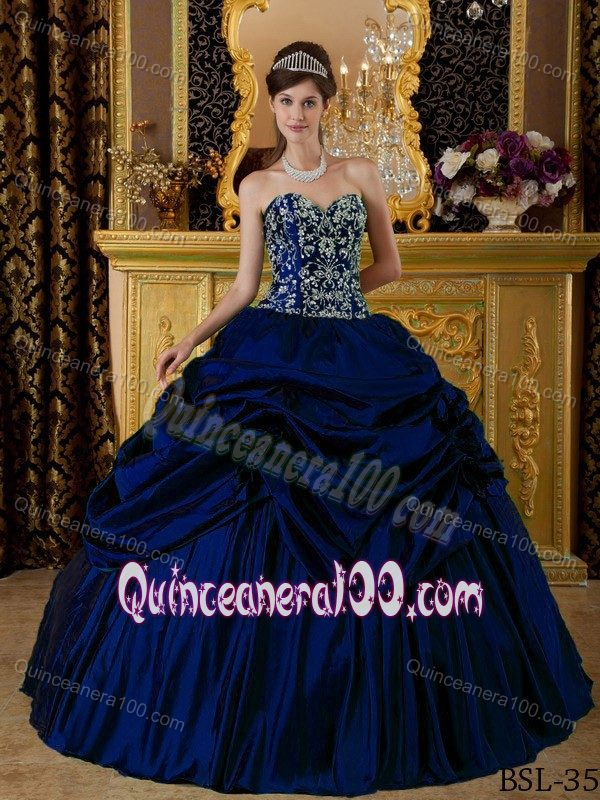 Discount Pretty Navy Blue Quinceanera Dresses - 2017 Quinceanera 100