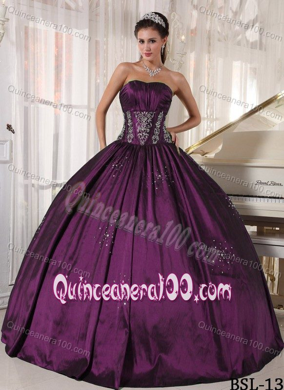 Dark Purple Quinceanera Dresses & Gowns - Quinceanera 100