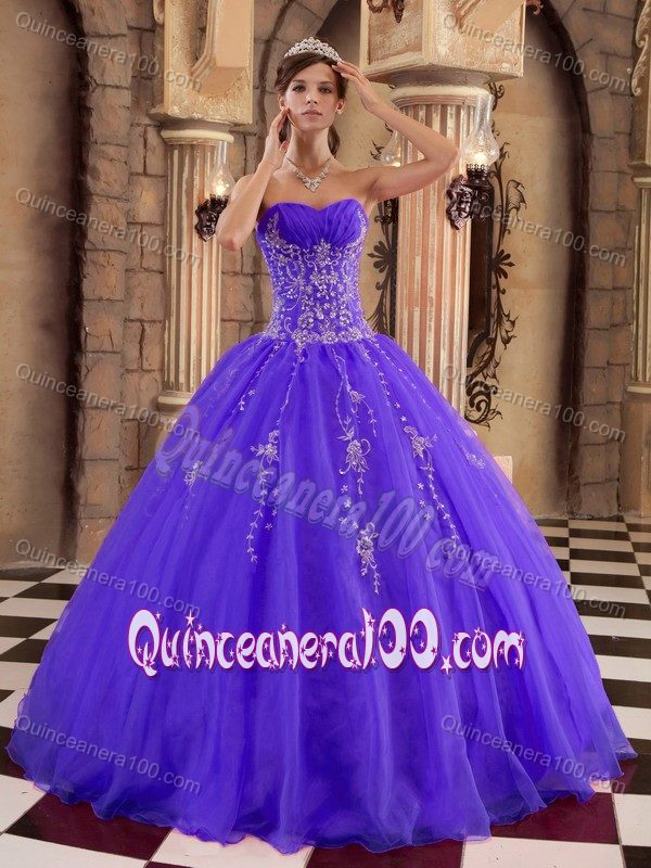 Luxury and Grace Purple Ball Gown Princess Quinceanera Dresses ...