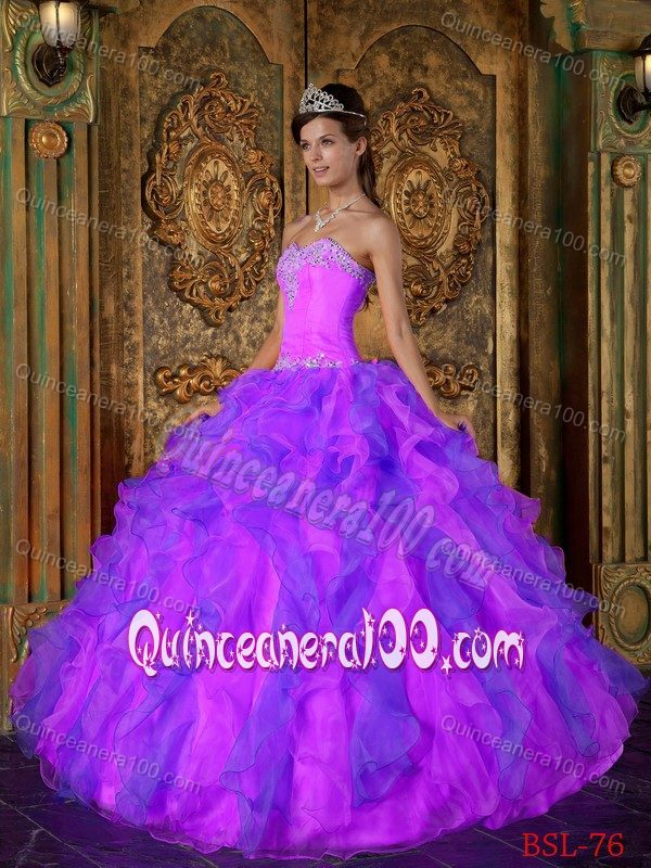 Pink and purple | new quinceanera dresses
