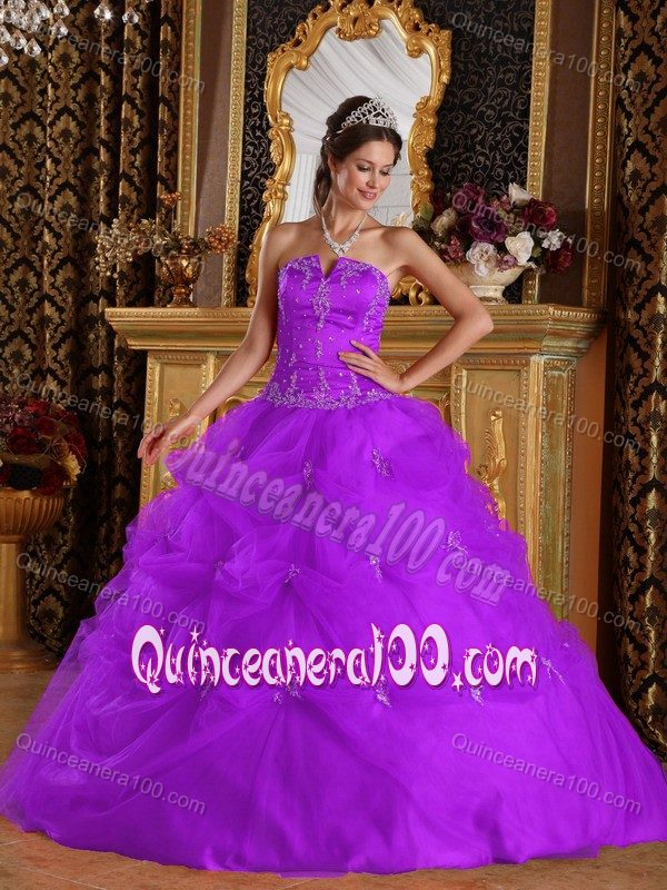 Shimming Purple Quinceanera Dresses For Summer