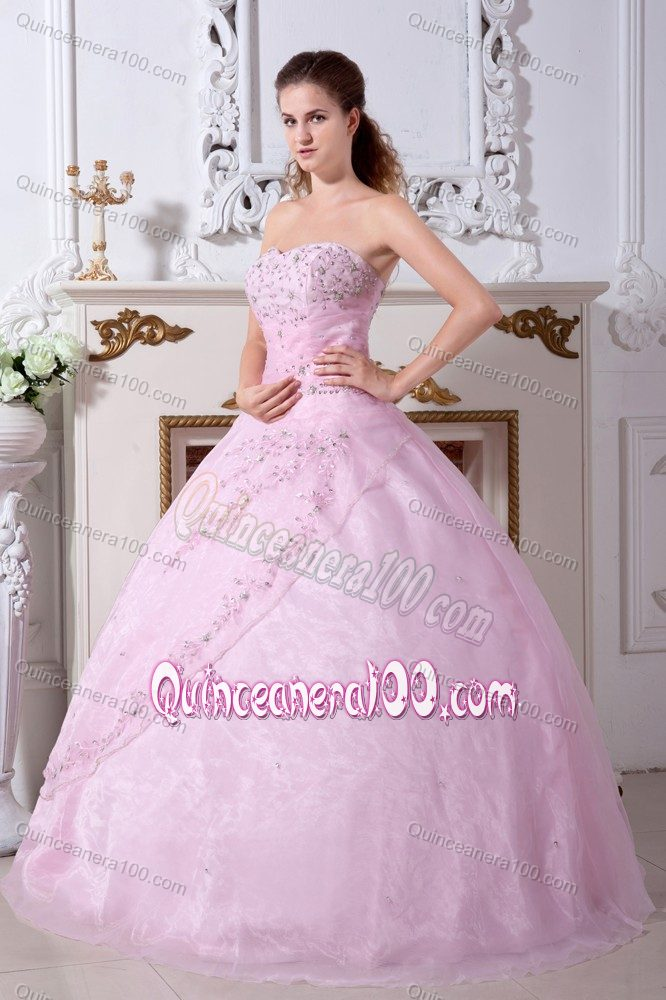 Wholesale Princess Sweetheart Beaded Pink Dress for Sweet 15Princess Dresses For Sweet 15