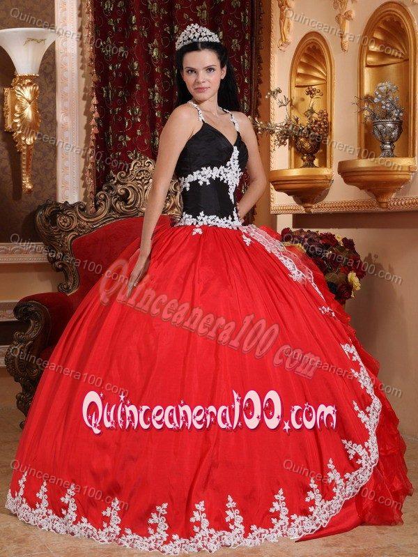 Similiar Red And Black Sweet 16 Dresses Keywords