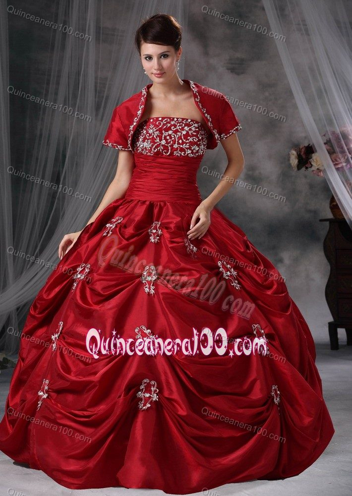 Used yellow quinceanera dress maroon