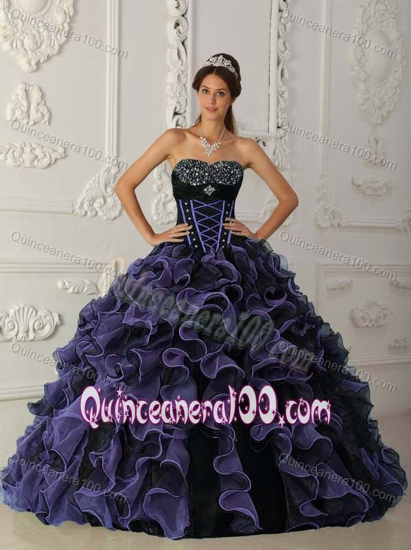 black and purple sweet 16 dresses great ideas for