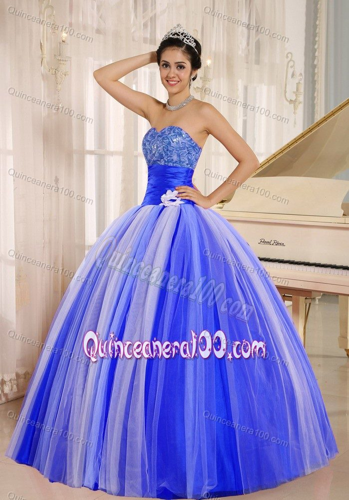 Fast Shipping Two-toned Sweetheart Sweet 16 Dresses Patterns ...