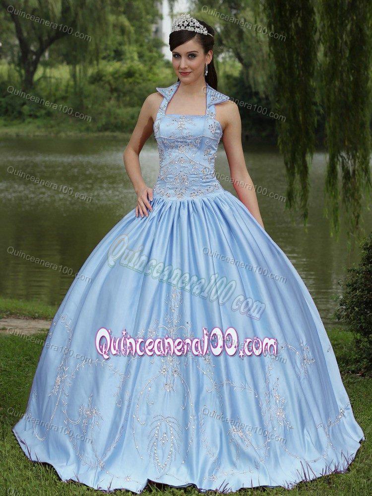 Discount Pretty Light Blue Quinceanera Dresses - 2017 Quinceanera 100