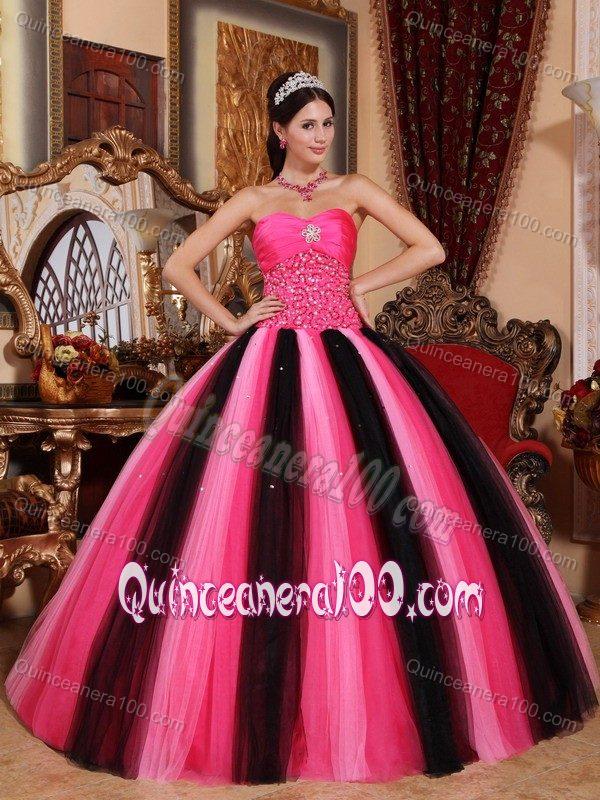 Black Sweet 16 Dresses