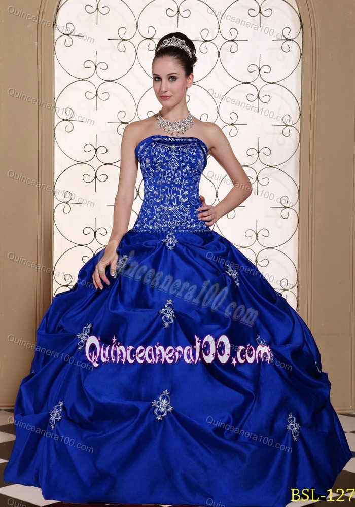 Royal Blue Quinceanera Dresses & Gowns - Quinceanera 100