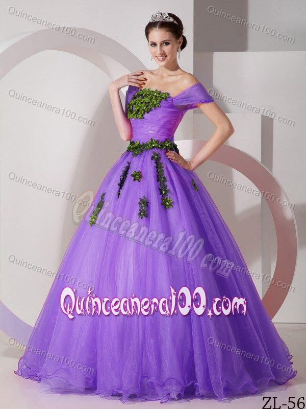 Lovely Pink Strapless Sweet 16 Dresses with Colorful Appliques ...