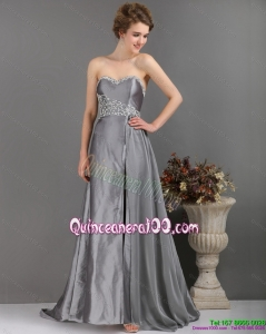New Style Sliver Dama Dresses with Appliques