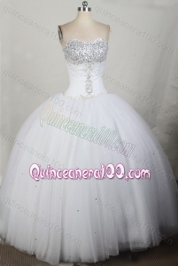 2012 Unique Ball Gown Sweetheart Floor-Length Quinceanera Dress