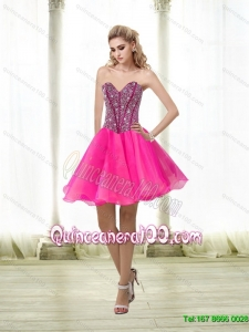Discount A Line Beading Sweetheart Dama Dresses