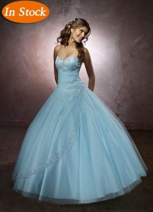 Exquisite Ball Gown Sweetheart Floor-length Quinceanera Gown