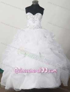 2013 Sweet Little Girl Pageant Dresses With Appliques and Pick-ups