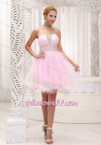 Beading Baby Pink 16 Birthday Party Dress