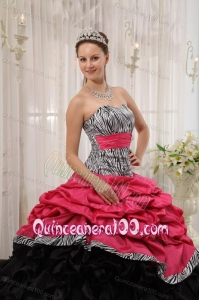 Red and Black Birthday Dresses