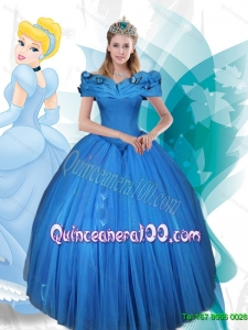 Sophisticated Ball Gown Off the Shoulder Lace Up Cinderella Quinceanera Dress