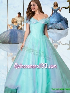 Off The Shoulder Cinderella Quinceanera Dresses for Pageant