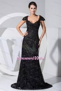 2014 The Brand New Style Beading Mother of the Dresses in Black