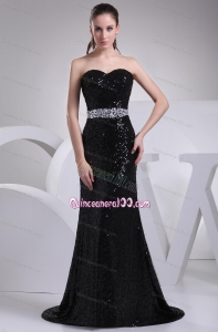 2014 The Most Popular Beading Sweetheart Mother of the Dresses in Black