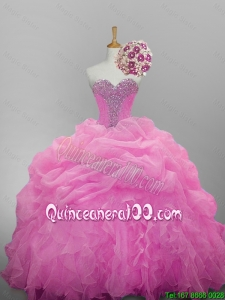 Luxurious Sweetheart Beaded Quinceanera Dresses for 2015