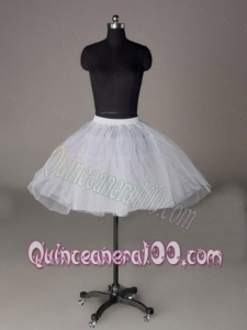 Mini-length Organza Custom Made Petticoat