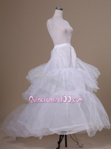 Cheap Tulle Floor-length Wedding Petticoat