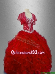 Ball Gown New Arrivals Sweet 16 Dresses with Ruffles