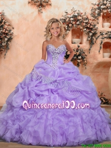 The Super Hot Baby Pink Mini Quinceanera Dresses with Pick-ups and Ruffles For 2016