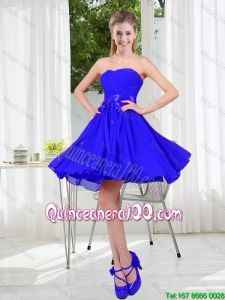Pretty New Style A Line Sweetheart Dama Dresses for Wedding Party